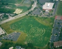 Crop circles in Naperville IL.  7-25-02